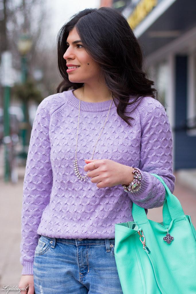 lavender sweater, boyfriend jeans, mint bag-6.jpg