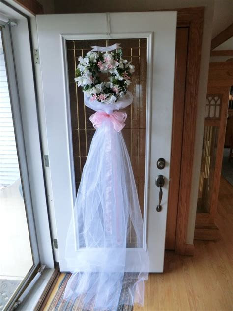 Bridal Shower door decoration   Stuff I want to make in
