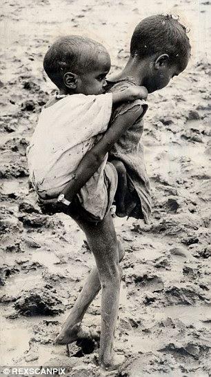 Ethiopian children in 1984