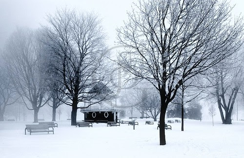 Orillia Waterfront - Winter Bandstand 1