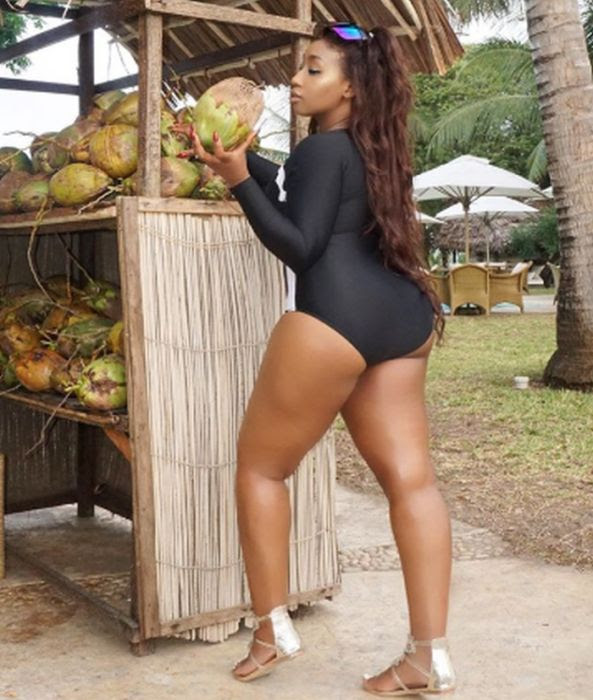 Victoria Kimani Shows Her Butt In New Photos