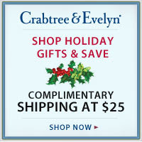 Cyber Monday - Complimentary Shipping at $25