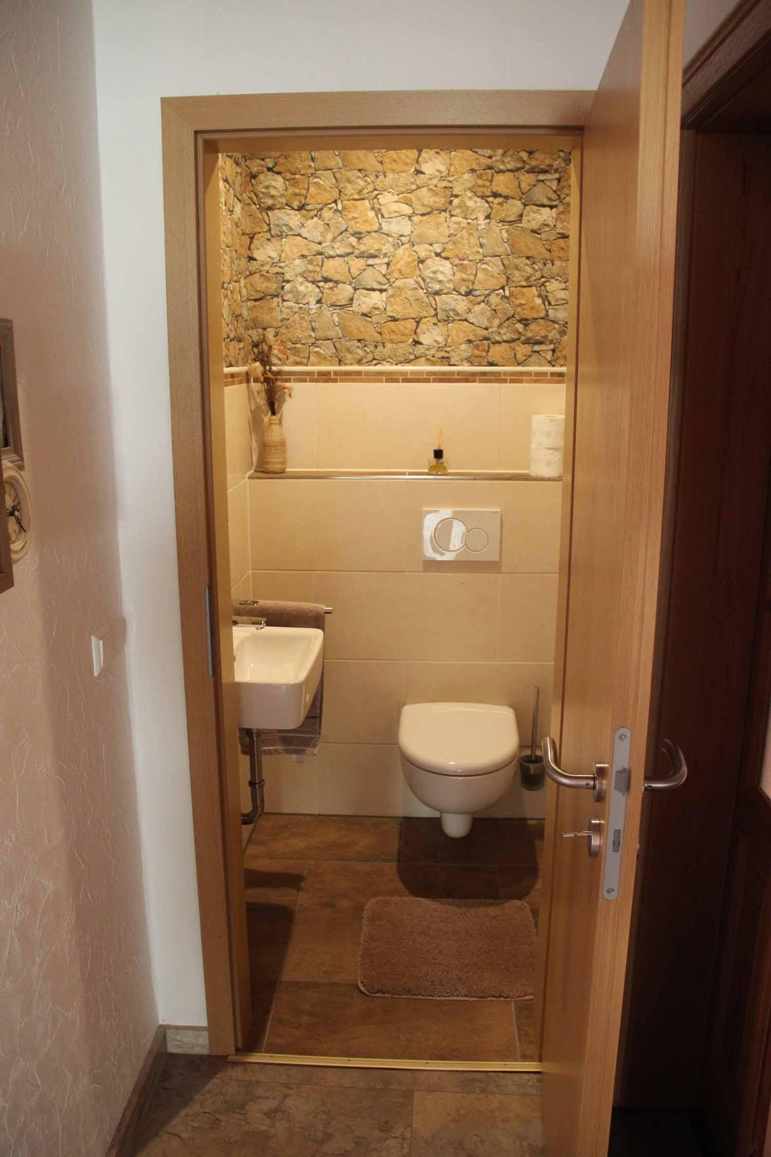 Gäste-WC – Ferienwohnungen Birgit & Uwe Scherhag