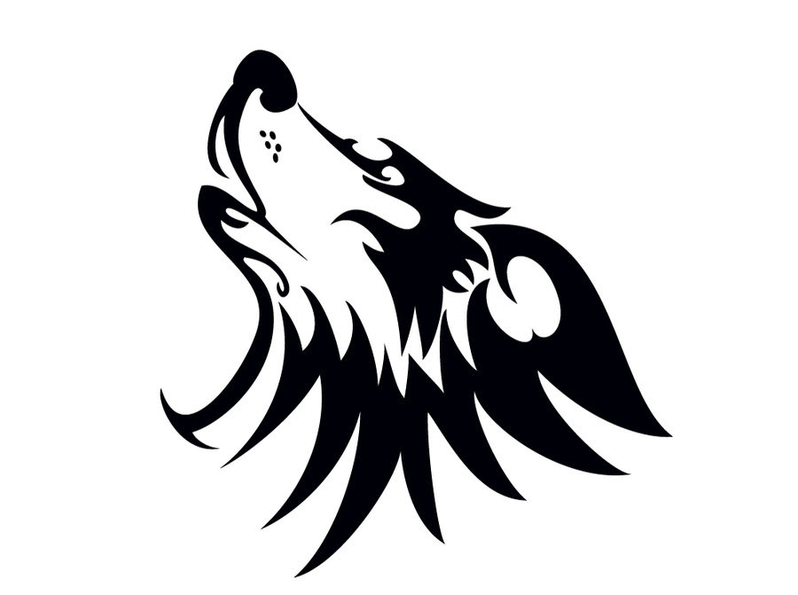 Wolf Head Outline Free Download Best Wolf Head Outline On