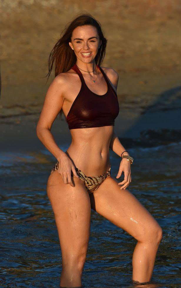 Jennifer Metcalfe in Bikini