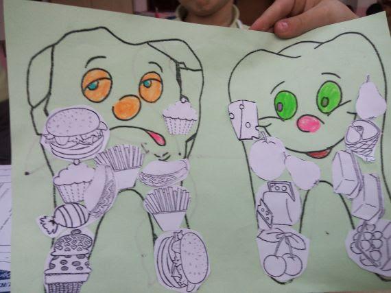 Sağlıklı Ve çürük Diş Etkinliğimiz Eğitim Bilişim Ağı