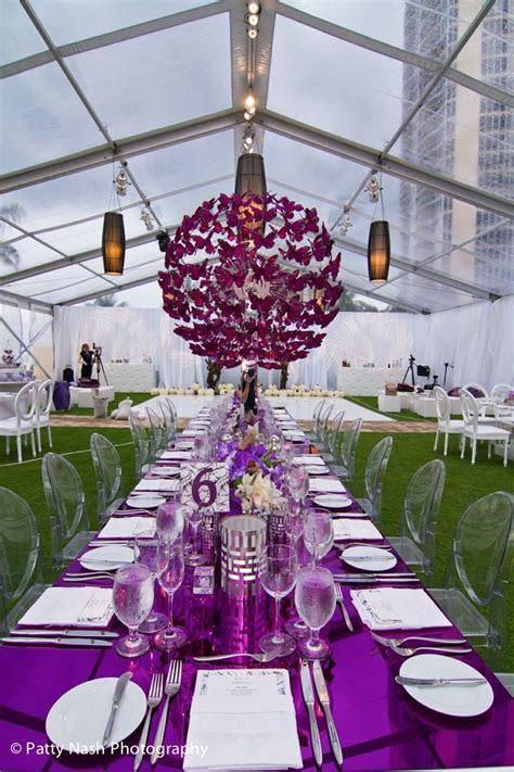17 Best ideas about Purple Wedding Receptions on Pinterest