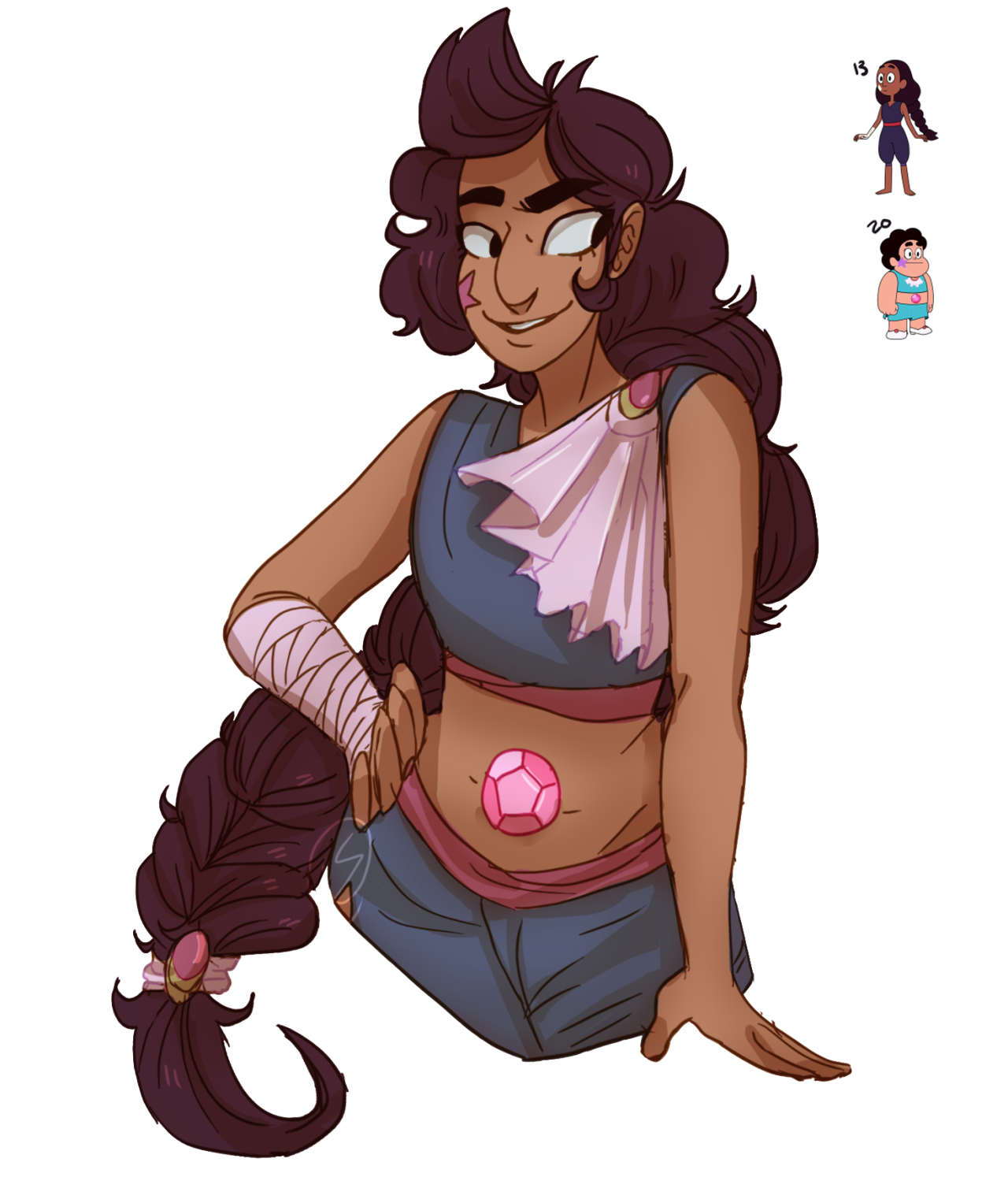 Stevonnie from this challenge/