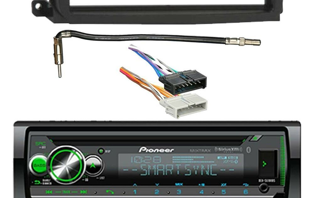 Pioneer Mixtrax Car Stereo Wiring Harness