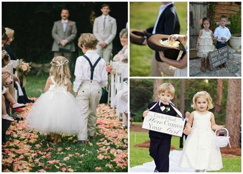 How to pair your flower girl and page boy WeddingDates