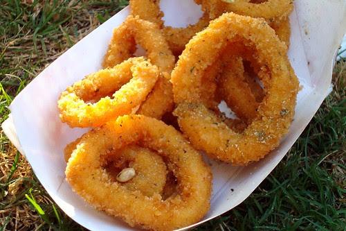 Calamari Rings from Greek Festival