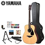Yamaha JF-FG700S-KIT-4 Acoustic Guitar Kit withTuner, Hard Case, Stand, Strings, Strap, Instructional DVD and...