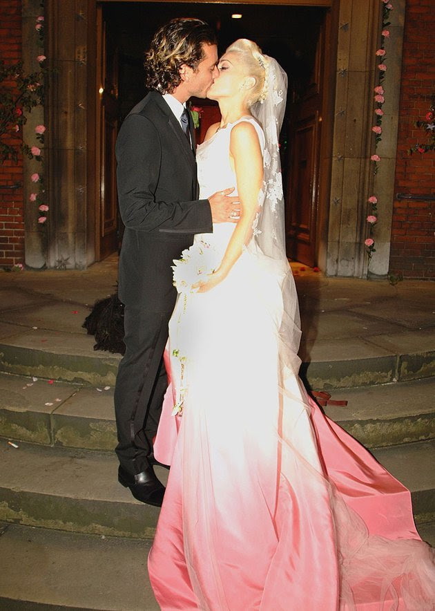 Part traditional, part funky, Gwen Stefani's bridal gown was kind of like her. The one-of-a-kind gown the No Doubt songstress wore when she married Bush frontman Gavin Rossdale in London in 2002 w
