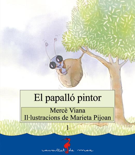 El papalló pintor (color)