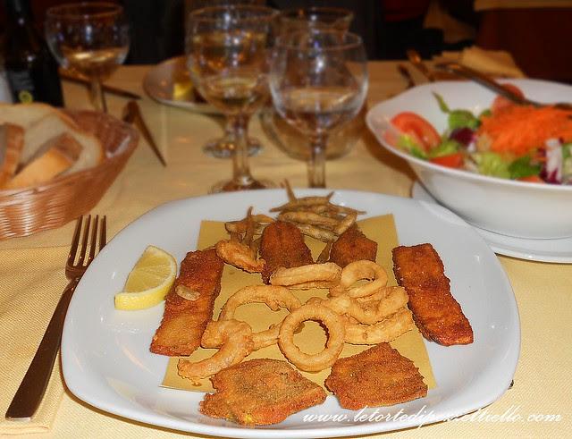 Cena di pesce raffinata