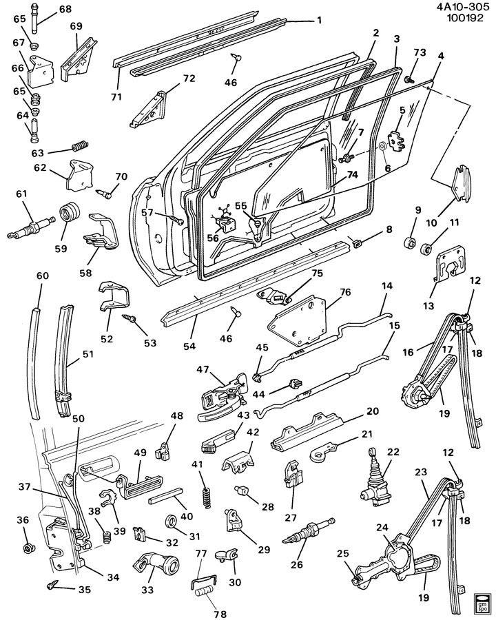 BOLT.CLIP.INSULATOR.RETAINER/GENUINE GM PART 16629236 ...