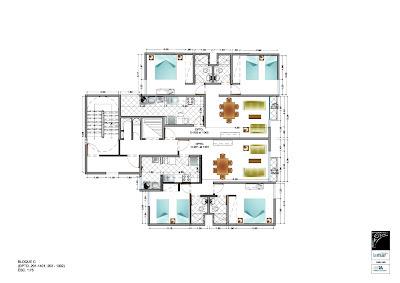 Departamentos en pueblo libre planos de casas gratis y for Edificio de departamentos planos