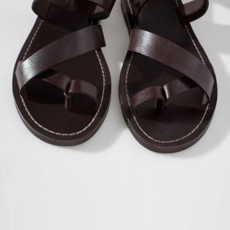 Mens Leather Sandals Zara Mens Dress Sandals