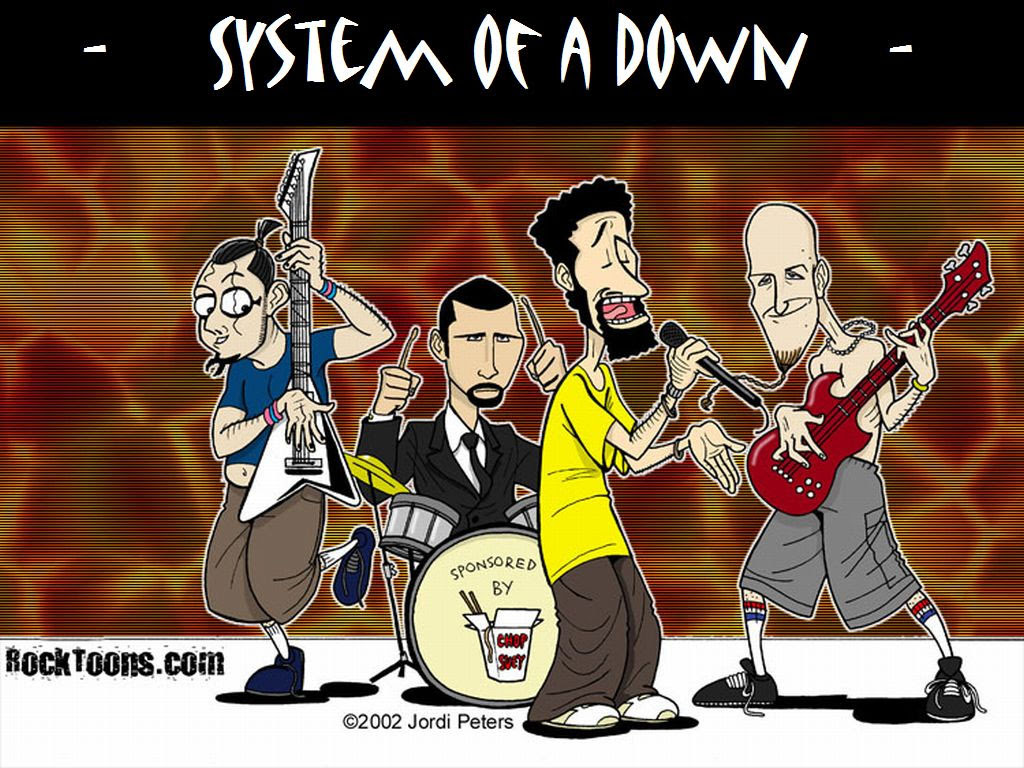 Soad Wallpaper System Of A Down Wallpaper 332038 Fanpop