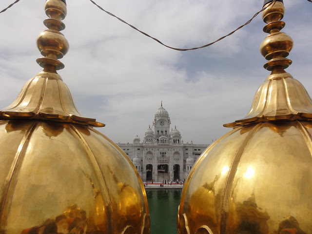Such gold plated structures have led to its more common name as Golden Temple
