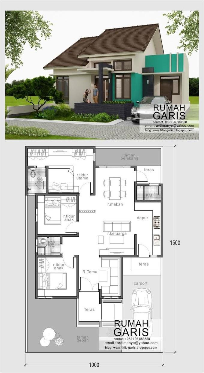 Model Dan Denah Rumah Minimalis   Ide Rumah Minimalis