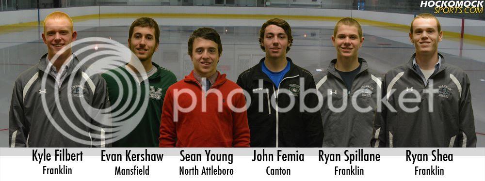 Hockomock boys hockey first team
