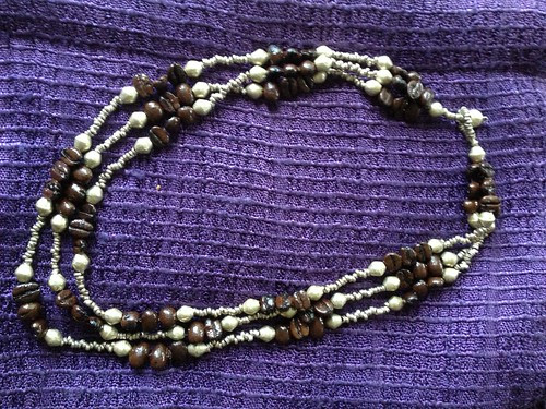 Coffee bean bracelet from Ethiopia