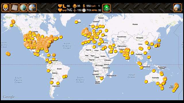 Gamefree Apoc12 Free Google Map Based Rpg Android