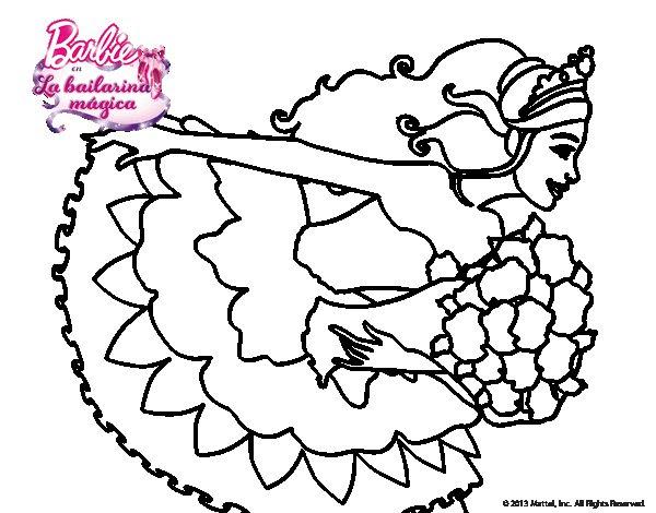 Dibujos De Barbie Para Colorear En El Ordenador Imagesacolorier