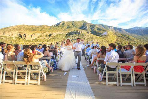 Mountain Lodge Wedding at Mount Charleston from Taylored