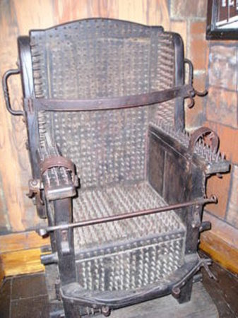 Museum of Medieval Torture Instruments: Torture Chair