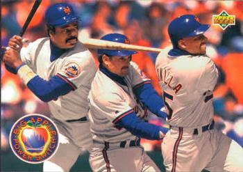 1993 Upper Deck #484 Eddie Murray / Howard Johnson / Bobby Bonilla Front