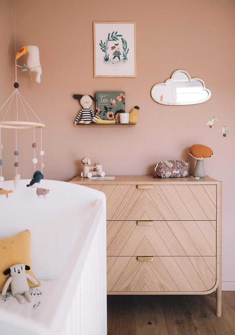 nursery simple boho