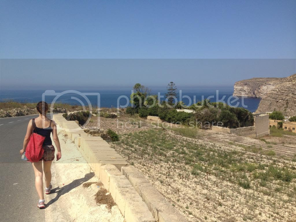 Gozo Cliffs Xlendi Walks Travel Blogger