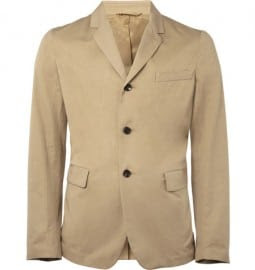 Marni Unstructured Cotton Blazer