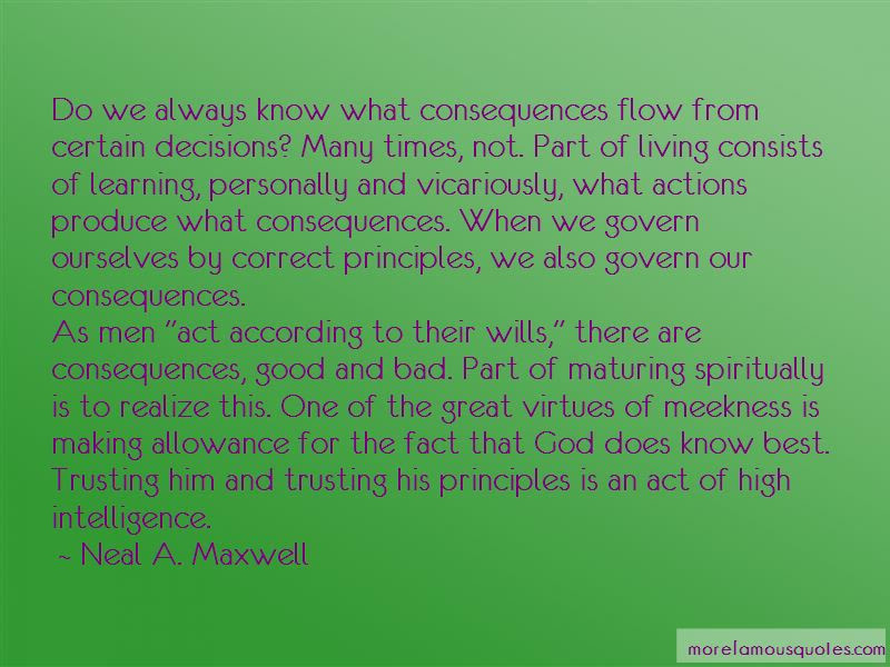 Quotes About Consequences Of Bad Decisions Top 6 Consequences Of
