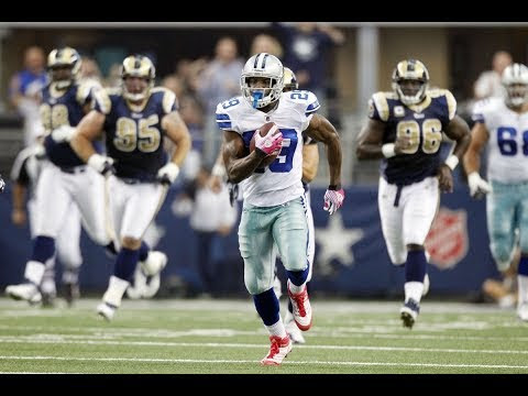Rookie DeMarco Murray's Record-Breaking Day vs. Rams in 2011