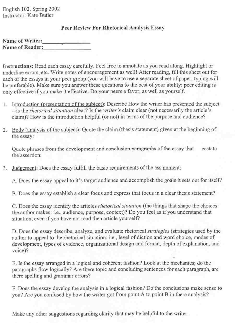how to write a rhetorical analysis essay x reader