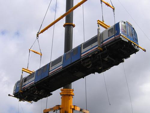 Waterloo & City Line Lift - Photo by Stephen Knight