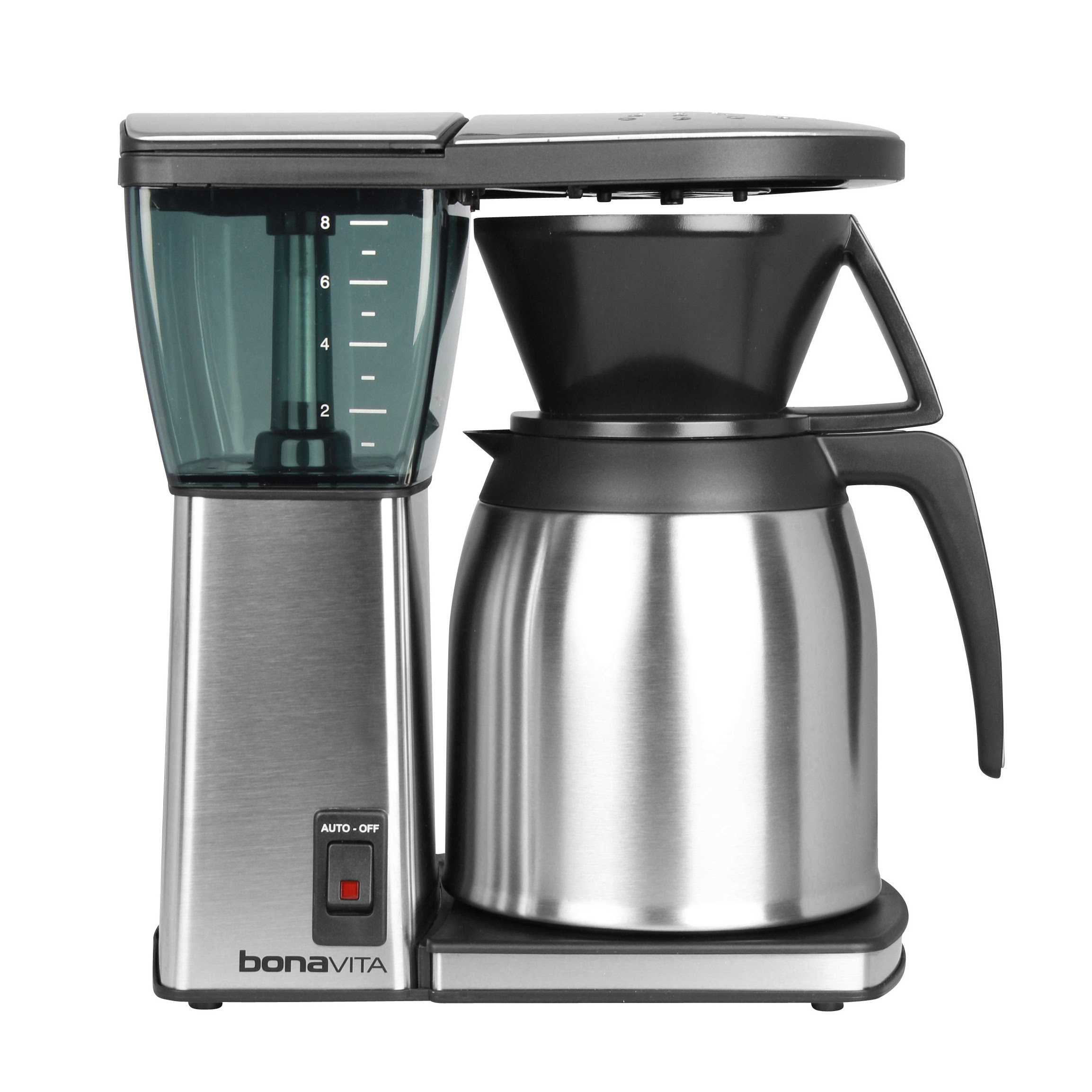 adorable nice modern metal made wonderful idea bonavita thermal coffee maker with nice large design with stainless steel design