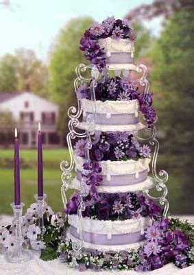 Southern Blue Celebrations: Purple Wedding Cake Ideas