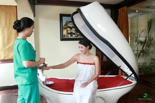Tắm trắng bằng máy phi thuyền đem đến hiệu quả tối ưu cho khách hàng