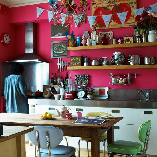 Kitchen   India Knight's vibrant Victorian home