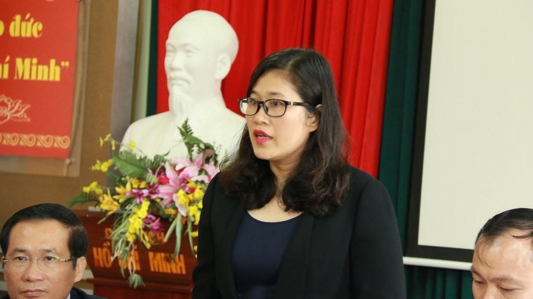 Tiểu học Nam Trung Yên, hiệu trưởng Trường Tiểu học Nam Trung Yên, Tạ Thị Bích Ngọc, học sinh gãy chân