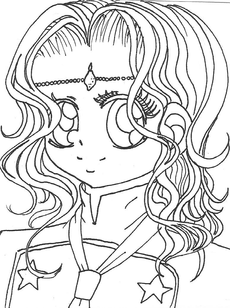 Coloriage manga gratuit dessin a imprimer 116