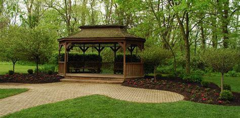Pattison Lodge and Gazebo for a potential reception venue