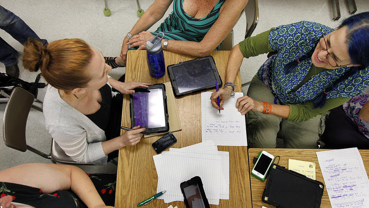 Helping teachers teach with tech