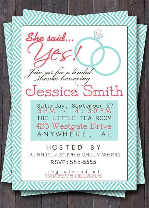 bridal shower invitation wording for gift cards   bridal