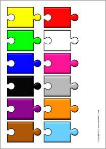 Editable jigsaw piece templates (SB3121) - SparkleBox | Frames ...