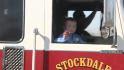 Firetruck escorts 6-year-old shooting victim home